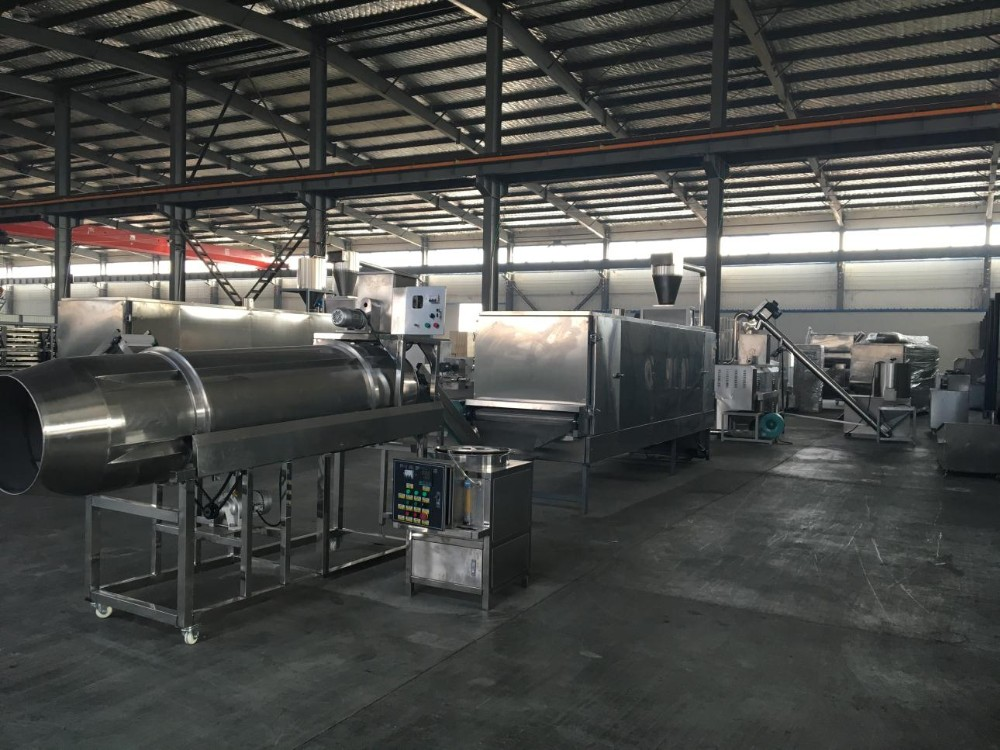 Stainless steel pet food extrusion machine