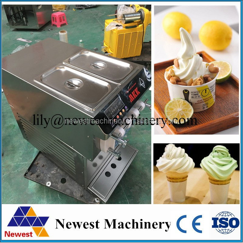 Yoghurt fruit ice cream maker machine,frozen fruit dessert making machine