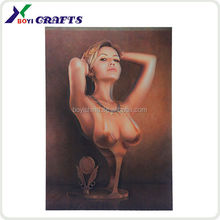 2014 best selling nude picture 3d lenticular poster