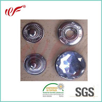 Beautiful high quality new fashionable decorate clothes snap button in copper