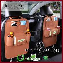Multi-functional felt Car Truck Van SUV back seat organizer / seat Pocket / Tire Storage hanging Bag