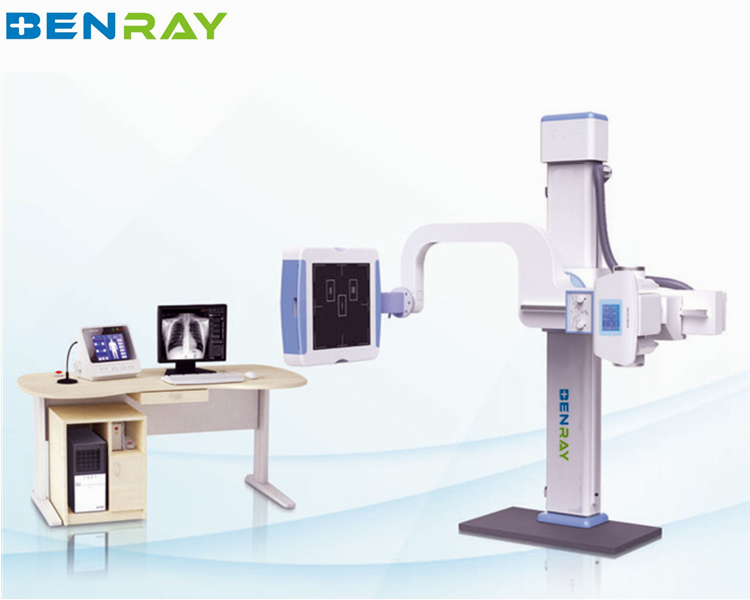BR-XR2100 high frequency x ray radiography system radiography film viewer fluoroscopy machine