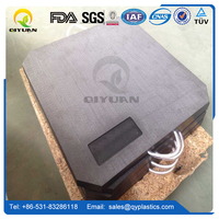 hdpe/uhmwpe outrigger pad, rigid plastic sheets/ panel