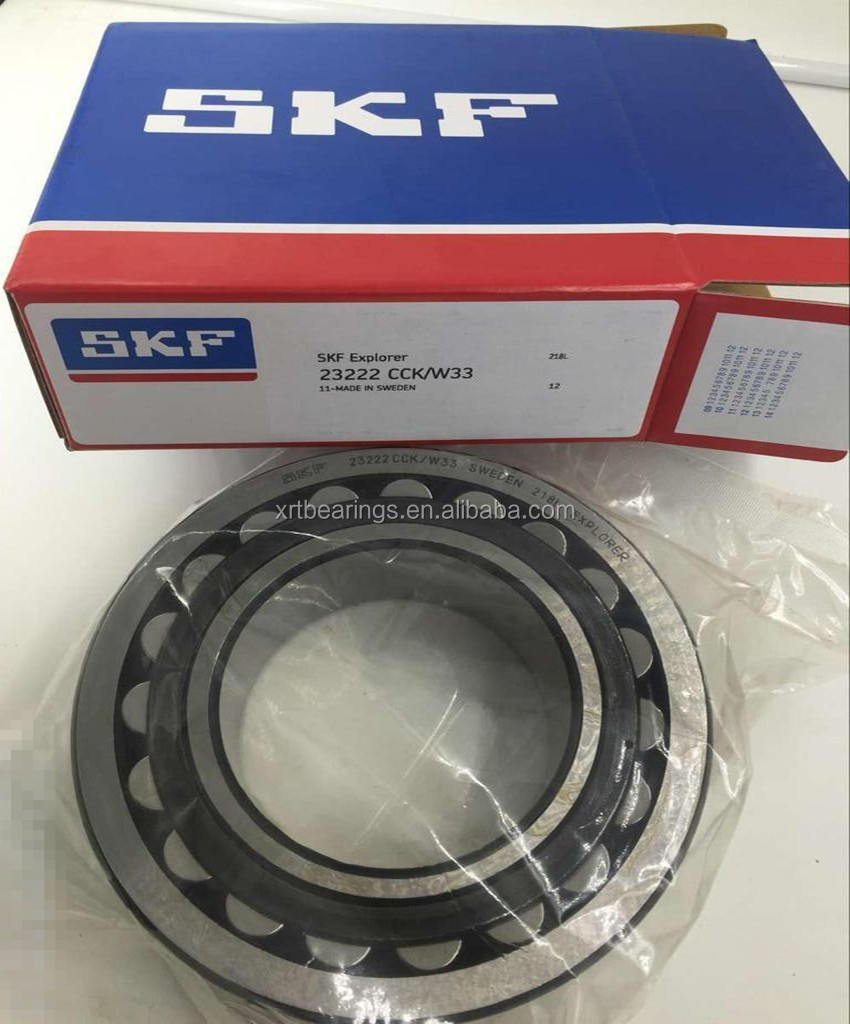 SKF large stock 23222CCK/W33 bearing sizes 100x200x69,8 mm spherical roller bearing with adapter sleeve 23222CCK/W33 + H 2322