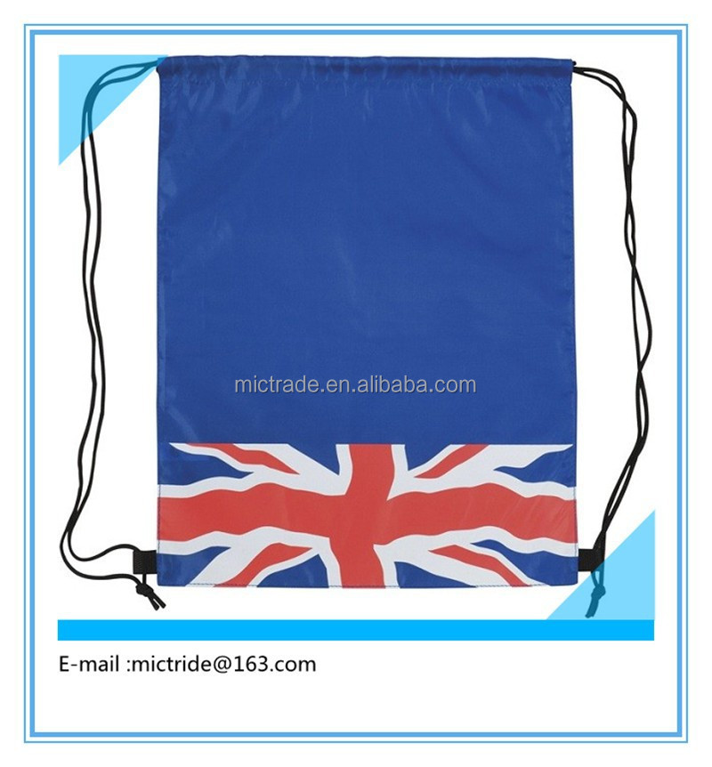 hot Mini Drawstring bag,small drawstring bags,flag mark Drawstring bag
