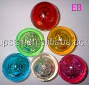 Bouncing flashing ball, 49MM lighting bouncing ball,rubber bouncing ball