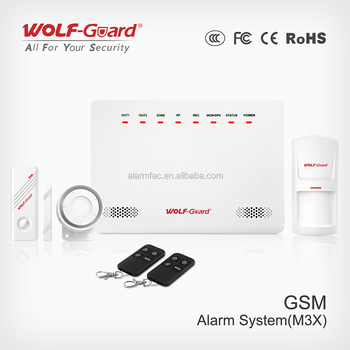 2017 New Smart Alarm system with App
