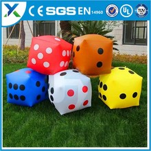 Giant Custom Color Dice /giant inflatable d20 dice/Inflatable Floating Dice