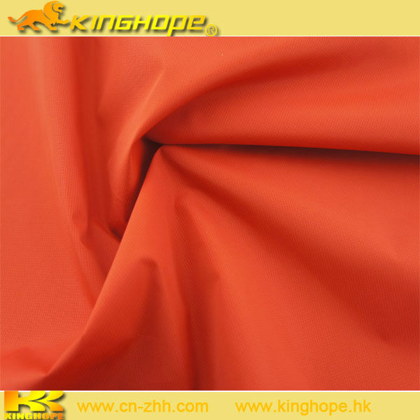 PA coated Full dull 100% polyester pongee fabric