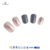 fengshangmei nail art eco-friendly uv painted glitter nails