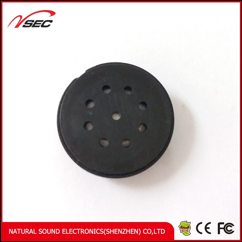 cheaper 20mm 4 ohm 0.25W round speaker for printer PIN20