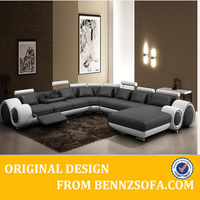 Contemporary sectional sleeper sofa set