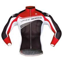 Male TOP quality SOOMOM Sublimation sportswear Pro Cycling long jersey customized Design