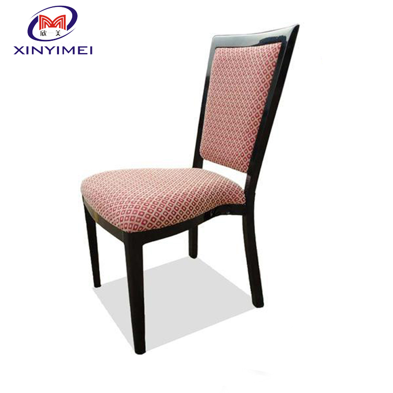 new type elegant hot sale antique aluminum hotel imitated wood chair for sale