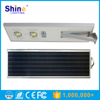 Integrated Design Solar Powered 70W Solar street Led Garden Light Manufacture