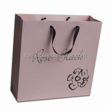 Advertisement Boutique Cloth Paper Shopping Bags
