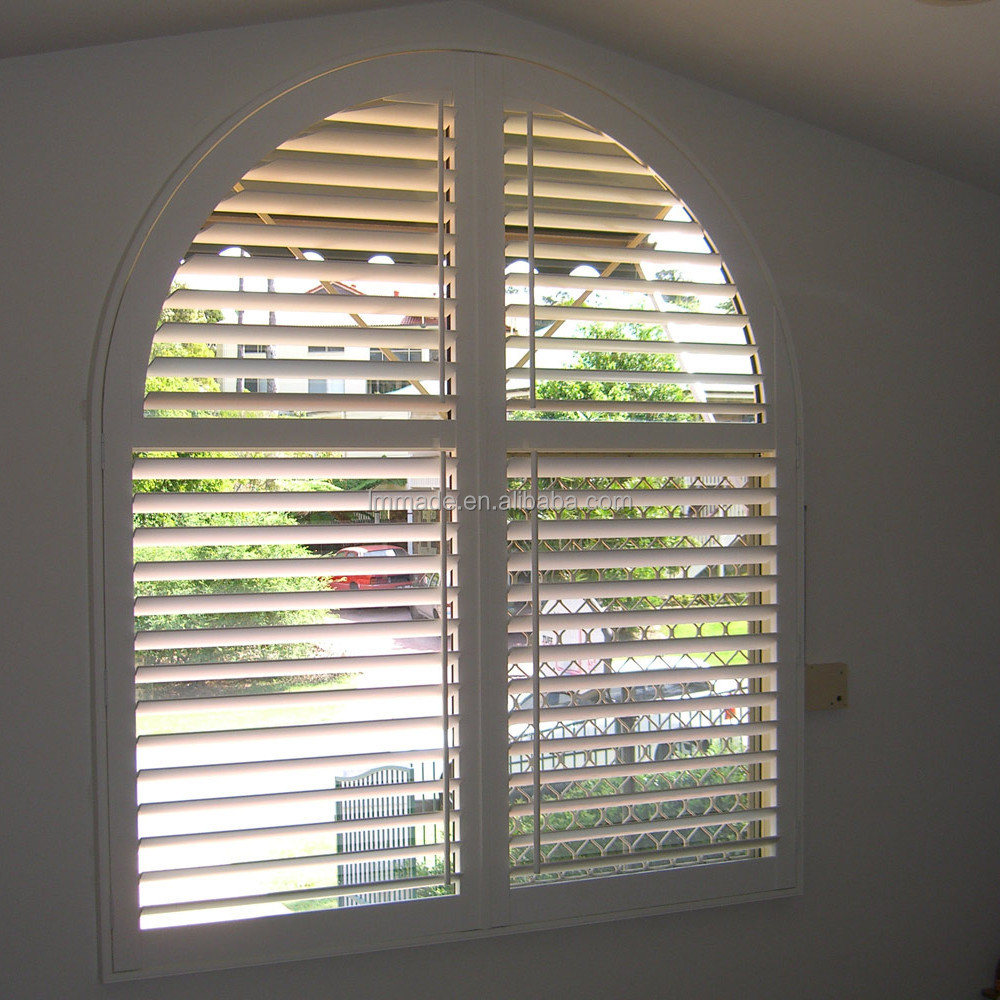 Wholesale Cheap Faux Wood Arch Window Blinds Buy Arch