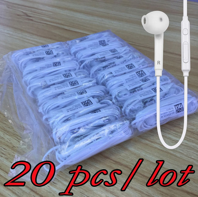 Free Sample 3.5MM In-Ear Handsfree EG920 Headphones Headset Earbuds Earphone With Mic for Samsung S7/S7 Edge