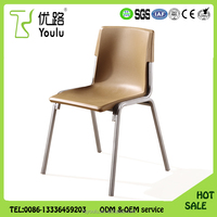 Best sale PP Plastic Low Price Visitor Chair , School Visitor Chair