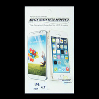 Wholesale High clear screen Guard for apple iphone 6 screen protector