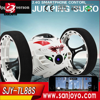 2015 best toys TL88S MINI jumping rc car with 200w hd camera wifi control stong bounce good quality