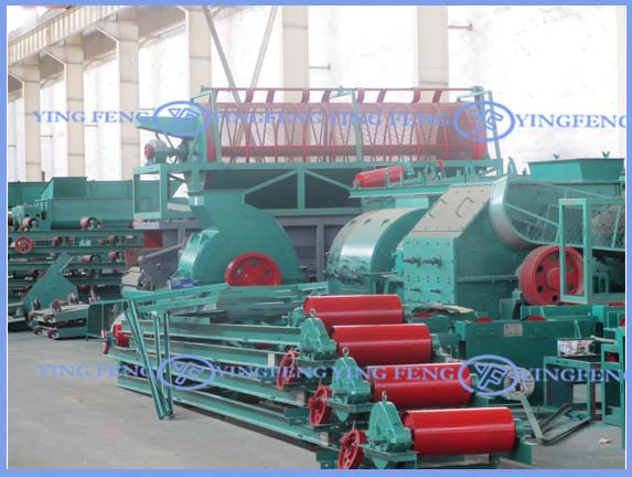 JZK50 fully automatic clay brick machine, automatic brick machine