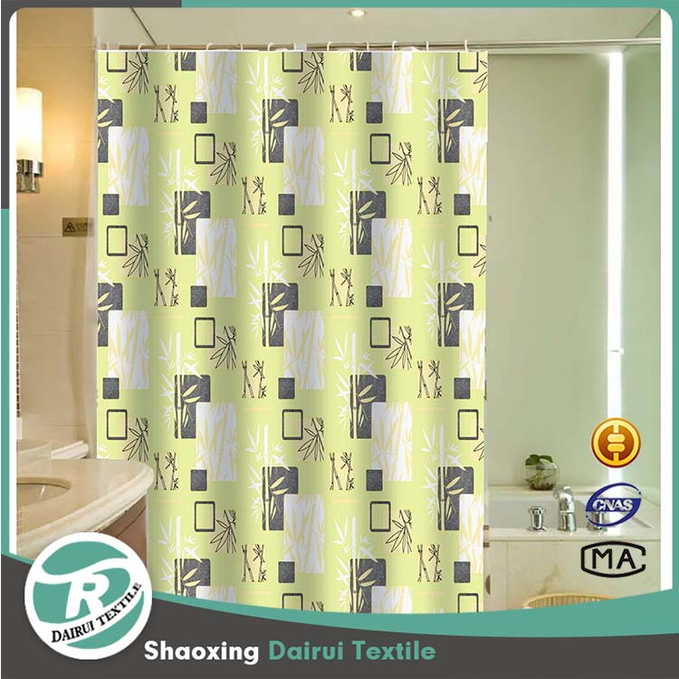 Different curtain design new model shower curtain for bathroom