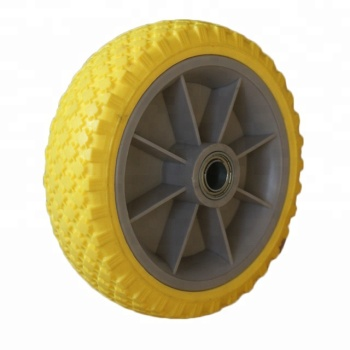 PU Foam Wheels 220x62 mm Wheelbarrow Or Hand Trolley