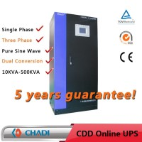 0 Transfer Time 20Kva Elevator Online Ups Spare Parts