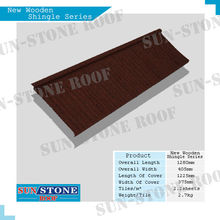 Hot Selling Nigeria Colorful Stone Coated Metal Roofing Tile / Metal Corrugated Tile Roofing / Stone Chip Coated Metal Roof Tile