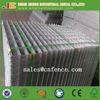Hot dipped galvanized welded wire mesh panel