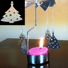 Newest Metal Candle Holder, Art Candle, Candle Stand in Shape of Christmas Tree for Holiday,Party Decoration, Mood Light