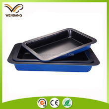 Nonstick baking tray microwave oven baguette tray custom gift tray