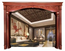 GSP20-007 Wooden Photo Door Frame Architrave Designs