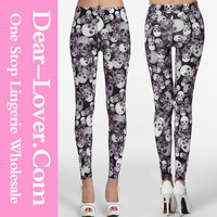 Made in china girls elegant printed legging