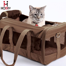 Folding Animal Carry Case Largest Airline Approved Pet Carrier Stylish