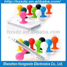 2014 new design fashion silicone mobile phone holder Support any phone