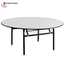 Cheap Popular Plastic Round HDPE Folding Table