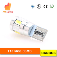 t10 canbus, canbus t10 6smd ,5630 t10 canbus light car led light t10 501 led canbus bulb t10 5630 6 canbus