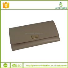 Branded Handmade Fashion PU Leather Wallet with Precise Workmanship