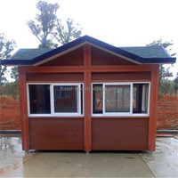 3x6Meter FRSTECH prefabricated wooden houses, wooden garden furniture