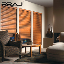 RRAJ Wooden Blinds Slats For Electric Roller Shutter