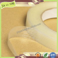 High quality Transparent Waterproof Adhesive Fiberglass Mesh Tape