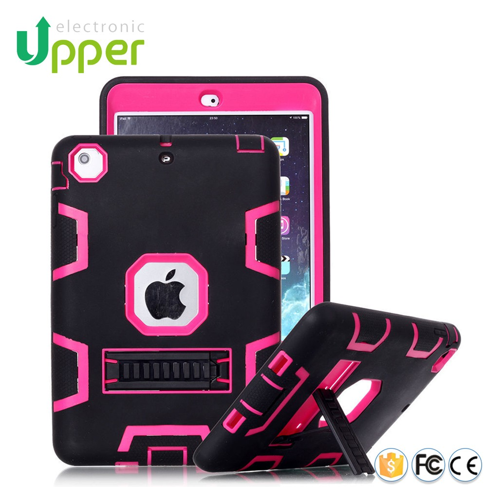 For ipad cover,2016 high quality hybrid hard case for iPad mini 1 2 3 4