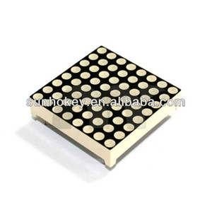 High Quality 3mm 8x8 RGB Full Color Led dot matrix Display 32x32mm