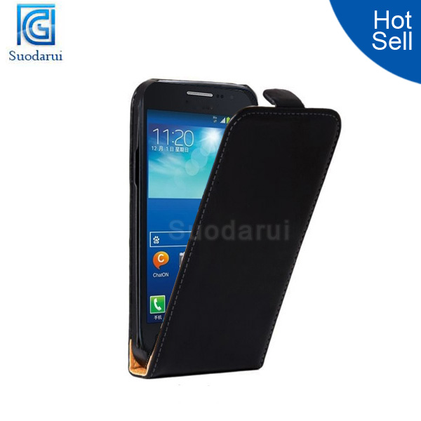 Book Wallet Stand Leather flip Cover Case For Samsung GALAXY S4 Active mini