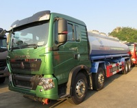 HOWO 6x4 diesel water sprinkling tank truck for 20000 liters capacity water bowser truck with pump system for sale