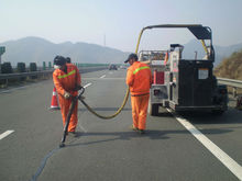 Road sealant -----Shanghai Roadphalt ,very perfect road surface assistant