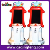 Qingfeng hot sell playground coin acceptor video mega jump Bouncing game console machine sale
