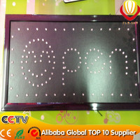 electronic products animated led open sign display board bright store low price factory direct